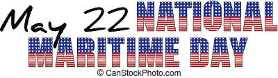 USA - may 22 -national maritime day