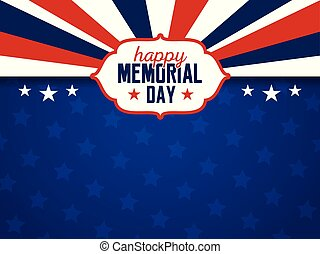USA Memorial Day Background - Happy Memorial Day Background....