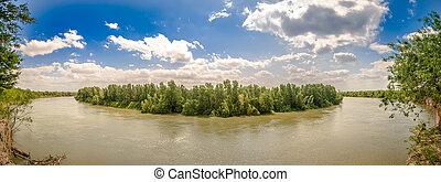 usa, mexico, rio grande, grens, texas