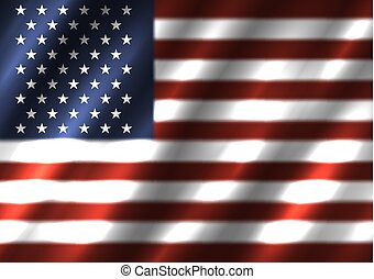 USA national flag background