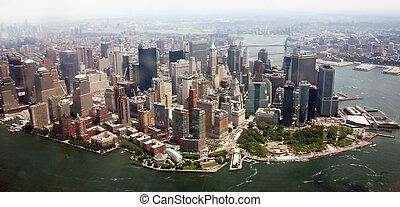 USA, New York, Manhattan Skyline