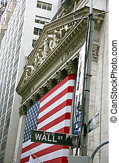 USA, New York, Wallstreet, Stock Exchange