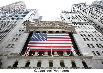 usa, new york, wallstreet, stock market