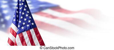 usa, ou, copie, américain, fond, espace, drapeau