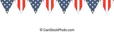 USA Patriotic design with the stars and stripes The idea for...