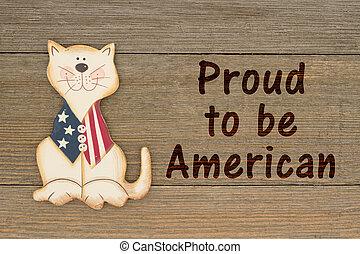 USA patriotic message