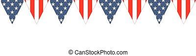 usa, patriotique, conception
