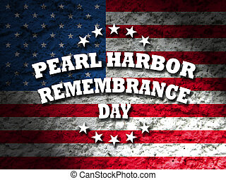 USA Pearl Harbor Remembrance Day card