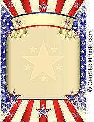 USA poster grunge