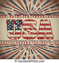 USA poster