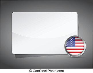 USA presentation board