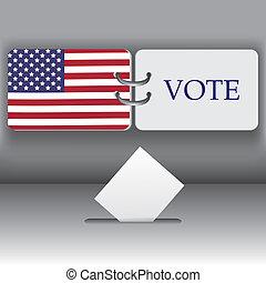 usa, presidentieel, verkiezing, achtergrond, 2012