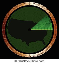 u.s.a., radar
