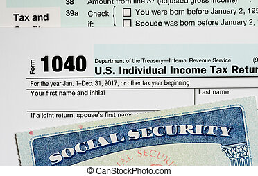 USA Social Security Card on calculations of tax for...