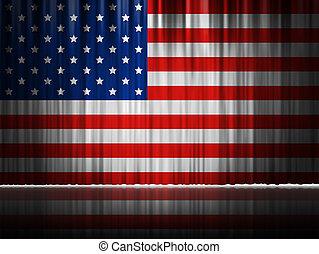 American Flag Clip Art Vertical
