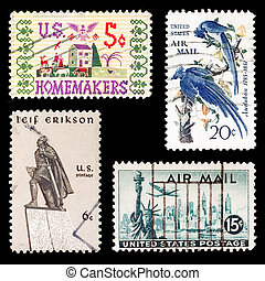 USA stamp set