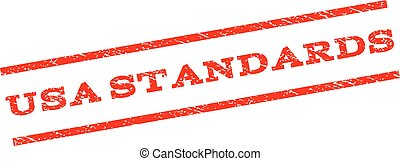 USA Standards Watermark Stamp