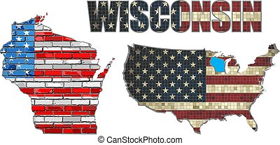 USA state of Wisconsin