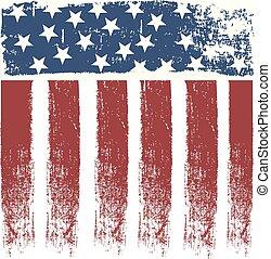 USA stripe flag vector design