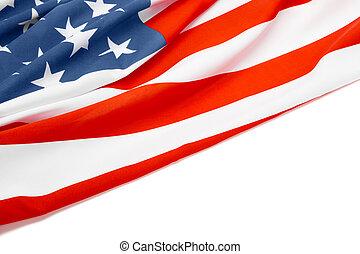 usa, texte, drapeau, propre, endroit, ton