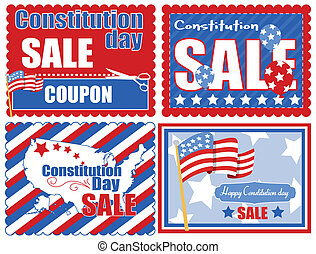 USA Theme Coupon Backgrounds