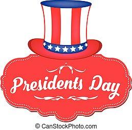 USA Theme Happy Presidents Day