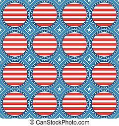 USA theme pattern