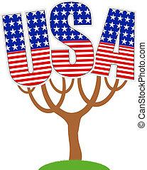 USA tree