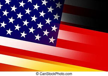 fahne deutschland usa usa gemalt beschaffenheit leder fahne deutschland. Black Bedroom Furniture Sets. Home Design Ideas