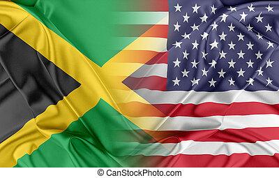 usa, und, jamaika