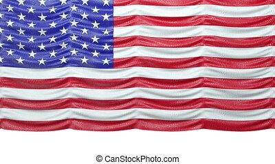usa, up.alpha, drapeau, rideau, croc, railler