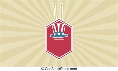 USA Video animation
