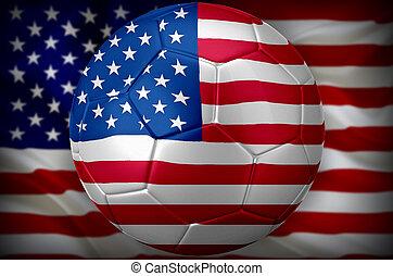usa, voetbal, wereld kop