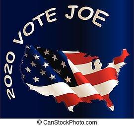 USA vote Democratic - Vote Democratic Party message over ...