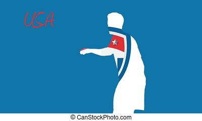 Usa world cup 2014 animation