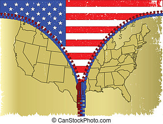 USA Zipper
