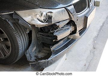 usage, accident, fracas, voiture, concept., courtier, assurance, autre, sécurité, ou