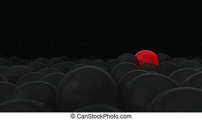 usage, opposé, facile, titre, all., balloon, changement, rouges, balloons., idéal, texte, sombre, contre, personality., autre, ideas., color., concept, arrière-plan., beaucoup, masque, une