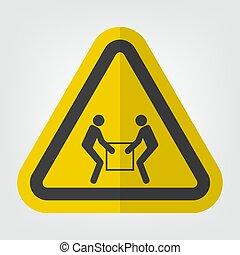 usage, symbole, deux, signe, personne, ascenseur