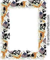 USA/Iraq Frame