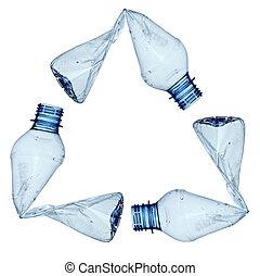 usato, ambiente, ecologia, bottiglia, rifiuti, vuoto