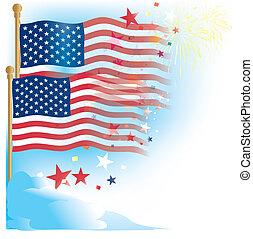 usa,us flag and stars