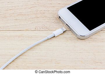 USB cable for smartphone. - USB cable for smartphone on...