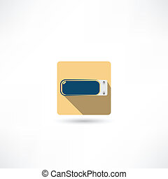 usb flash drive icon