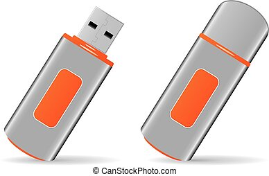 USB flash storage