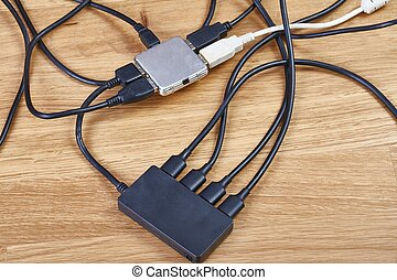 Usb hubs and cables