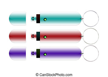 USB Sticks - USB sticks in different colors