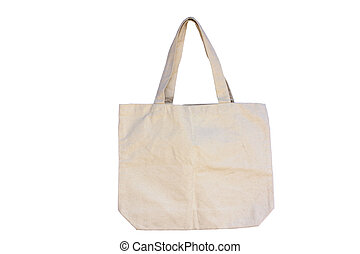 Use Calico bag instead of plastic for environment.