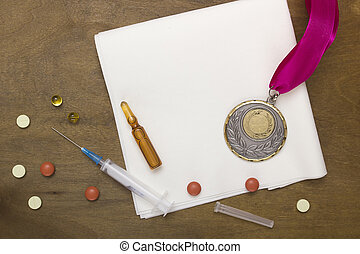 Use of doping for sports records