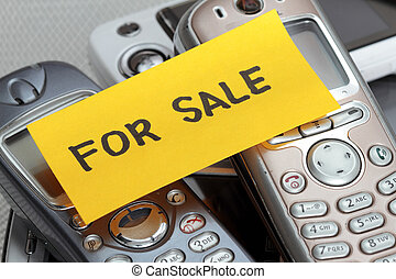 used Cell phones  - used old Cell phones for sale note